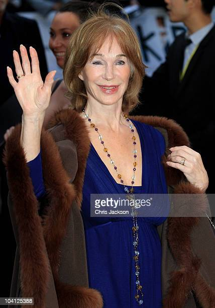 Shirley Anne Field arrives at the 'Kid' Premiere at the Odeon Leicester Square on September 15 2010 in London England