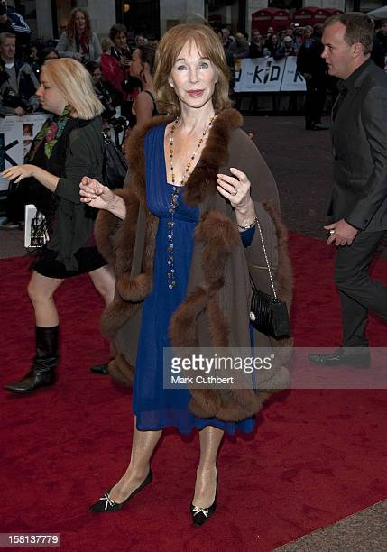 Shirley Anne Field Attends The Uk Premiere Of The Kid At The Odeon West End Leicester Square London