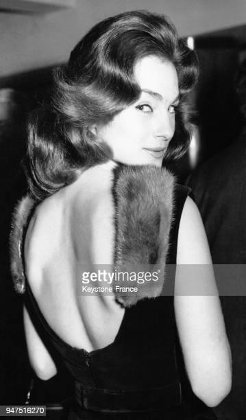 Shirley Anne Field Londres le 8 novembre 1960