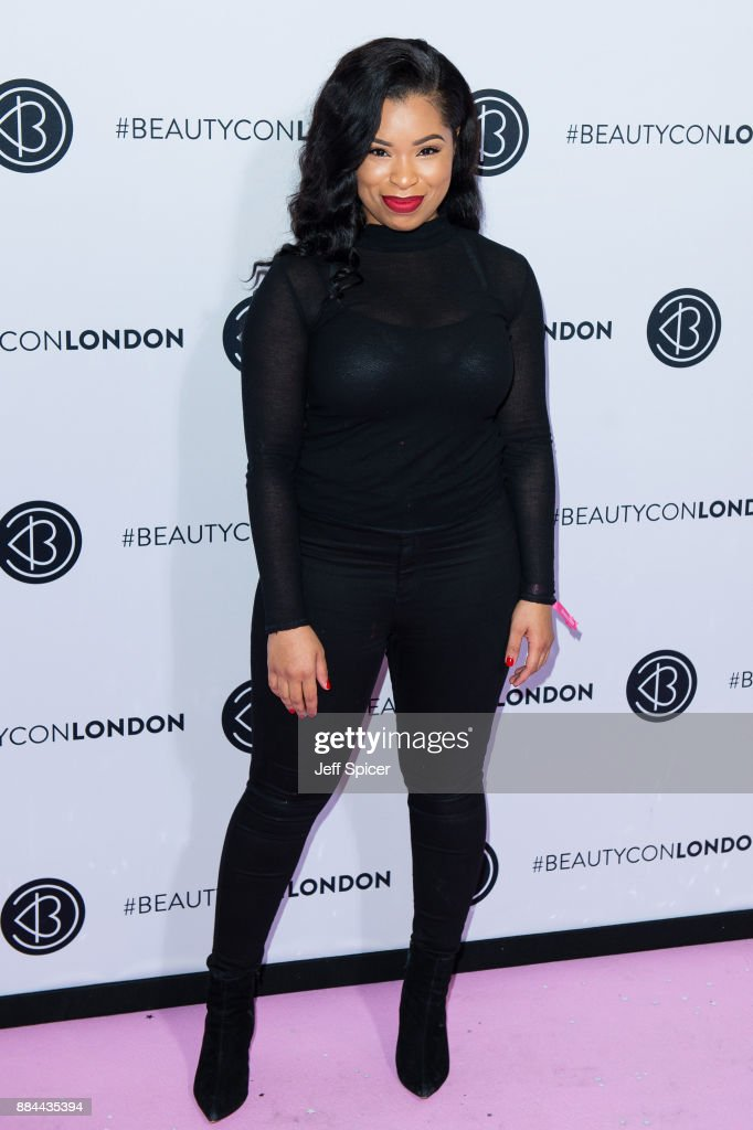 Shirley b Eniang attends Beautycon Festival 2017 at Olympia London on December 2, 2017 in London, England.