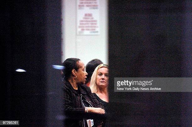 Shirley Baker visits her brother OJ Simpson along with OJ's girlfriend Christie Prody at the Clark County Detention Center