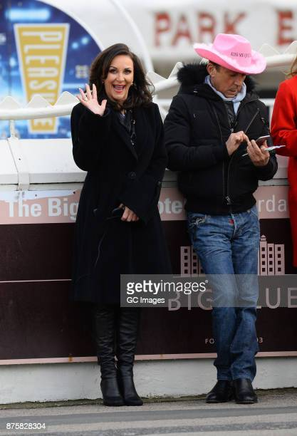 Shirley Ballas and Bruno Tonioli seen filming scenes for Strictly Come Danicing on November 18 2017 in Blackpool England
