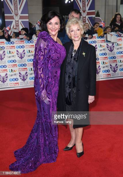 Shirley Ballas and mother Audrey Rich attend the Pride Of Britain Awards 2019 at The Grosvenor House Hotel on October 28 2019 in London England