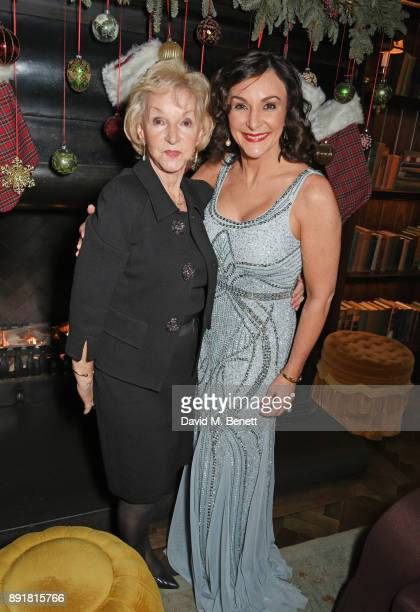 Shirley Ballas and mother Audrey Rich attend the Rosewood Mini Wishes Gala Dinner in aid of Great Ormond Street Hospital Children's Charity at...
