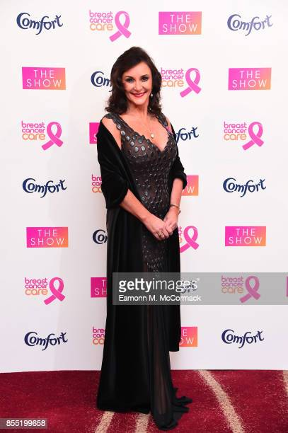 Shirley Ballas attends the Breast Cancer Care London Fashion Show in association with Comfort at Park Plaza Westminster Bridge Hotel on September 28...