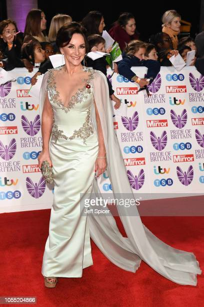 Shirley Ballas attends the Pride of Britain Awards 2018 at The Grosvenor House Hotel on October 29 2018 in London England