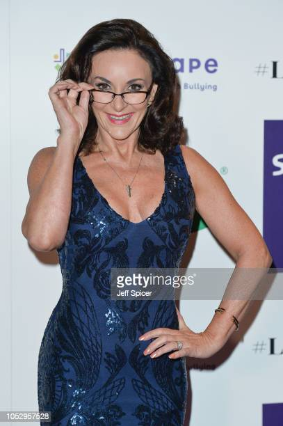 Shirley Ballas attends the Specsavers 'Spectacle Wearer Of The Year' at 8 Northumberland Avenue on October 24 2018 in London United Kingdom