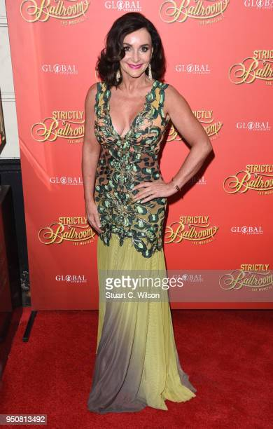 Shirley Ballas attends the Strictly Ballroom press night at Piccadilly Theatre on April 24 2018 in London England