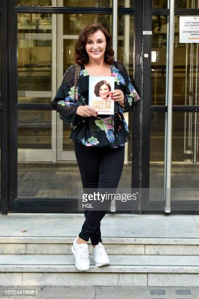 Shirley Ballas leaving her publishers with the first copy of her autobiography 'Behind the sequins' which is out on the 1st October on September 14...