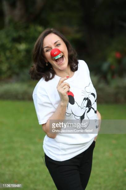 Shirley Ballas poses for a photo ahead of 'Kilimanjaro The Return' for Red Nose Day on February 22 2019 in Arusha Tanzania all to raise funds for...