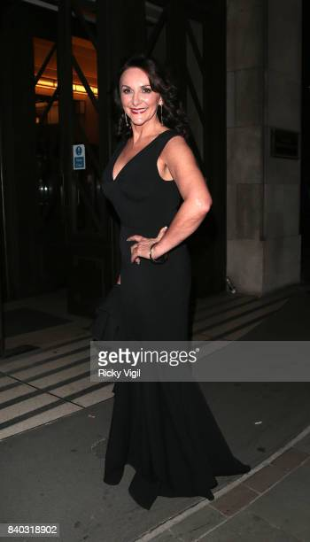 Shirley Ballas seen at the 'Strictly Come Dancing' launch at BBC Broadcasting House on August 28 2017 in London England