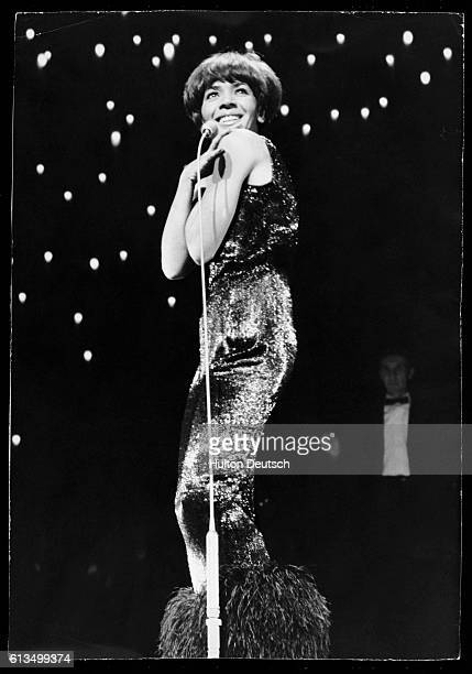 Shirley Bassey At The London Palladium 1965 'Shirley Bassey at the Palladium today in the dress she will wear before the Queen at tonight's...