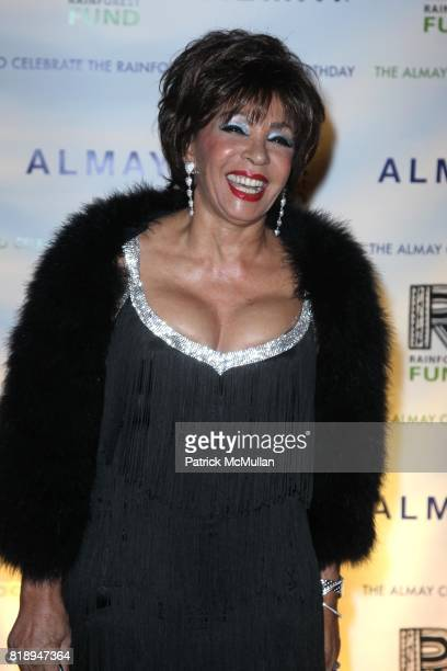 Shirley Bassey attend THE ALMAY CONCERT to Celebrate the RAINFOREST FUND'S 21st Birthday at The Plaza Hotel on May 13th 2010 in New York City