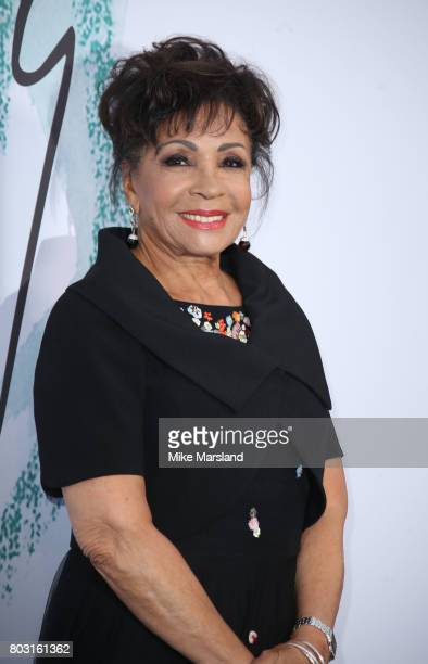 Shirley Bassey attends The Serpentine Galleries Summer Party at The Serpentine Gallery on June 28 2017 in London England