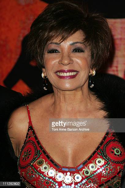 Shirley Bassey during 2006 Monaco 'Reggae' Rose Ball Arrivals at 2006 Monaco 'Reggae' Rose Ball Arrivals in Monte Carlo Monaco