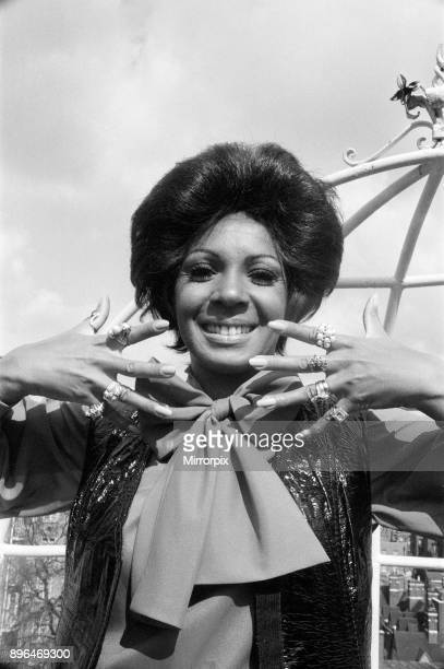 Shirley Bassey is back in London Shirley is pictured at The Dorchester Hotel showing off some of the rings on her hands On her right hand a tiger...