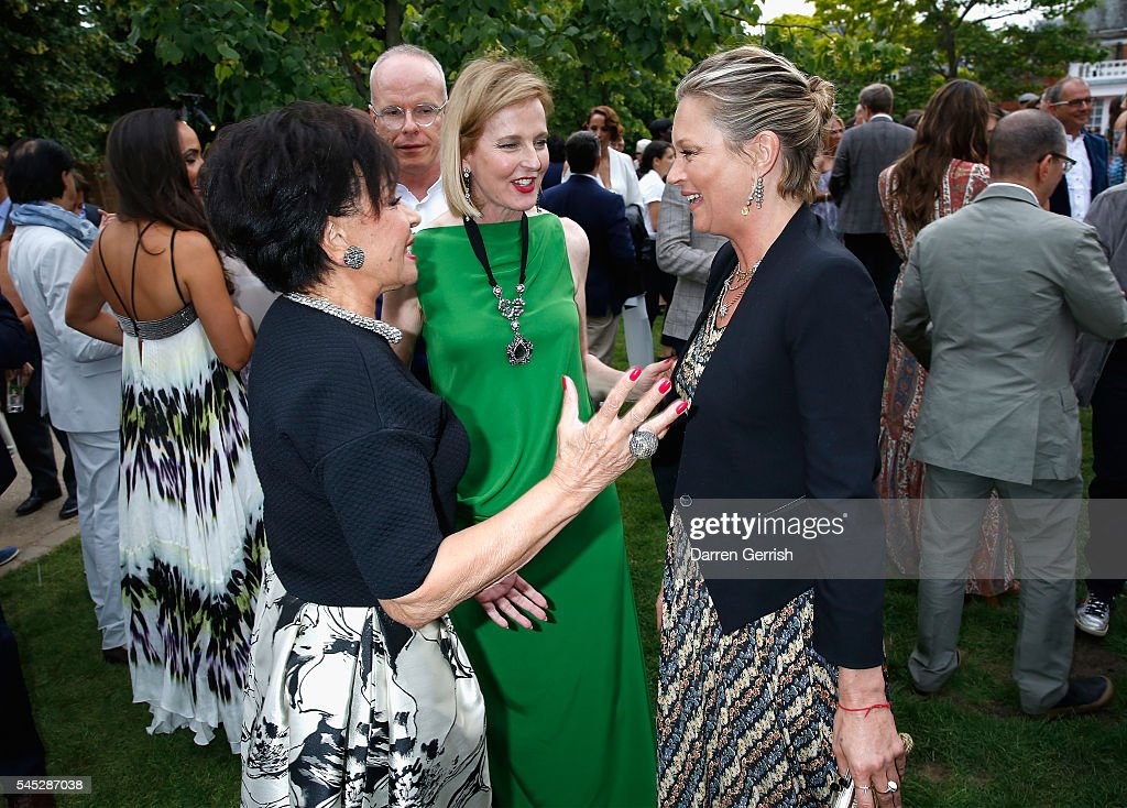 The Serpentine Summer Party Co-Hosted By Tommy Hilfiger - Inside : News Photo