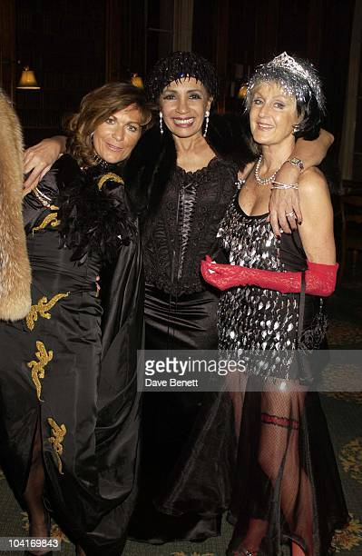 Shirley Bassey Liz Brewer Hong Kong Financier Andy Wong And His Wife Pattie Throw Their Annual Chinese New Year Party In Fancy Dress The Dress Code...