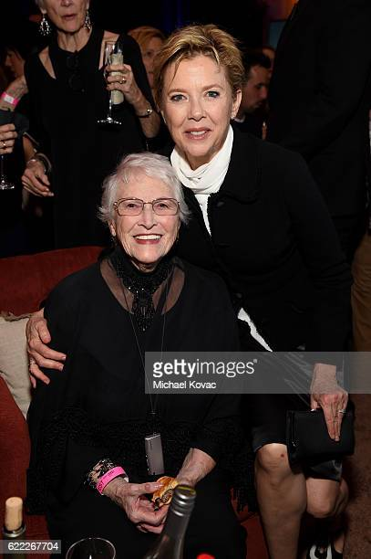 Shirley Bening and actress Annette Bening attends the after party for the premiere of 'Rules Don't Apply' at AFI Fest 2016 presented by Audi at TCL...