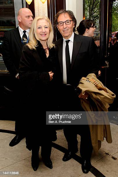 Shirley Black and Don Black attend the launch night of 'Top Hat' at Aldwych Theatre on May 9 2012 in London England
