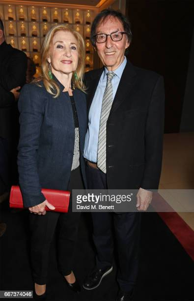 Shirley Blackstone and Don Black attend the press night after party for the English National Opera's production of Rodgers Hammerstein's Carousel at...