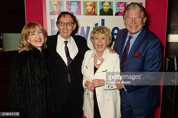 Shirley Blackstone Don Black Gloria Hunniford and Stephen Way attend the press night after party of How The Other Half Loves at Mint Leaf on March 31...