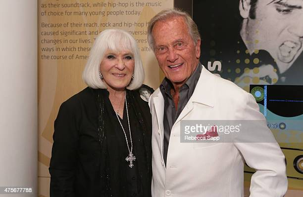 Shirley Boone and singer Pat Boone attend An Evening With Pat Boone at The GRAMMY Museum on June 2, 2015 in Los Angeles, California.