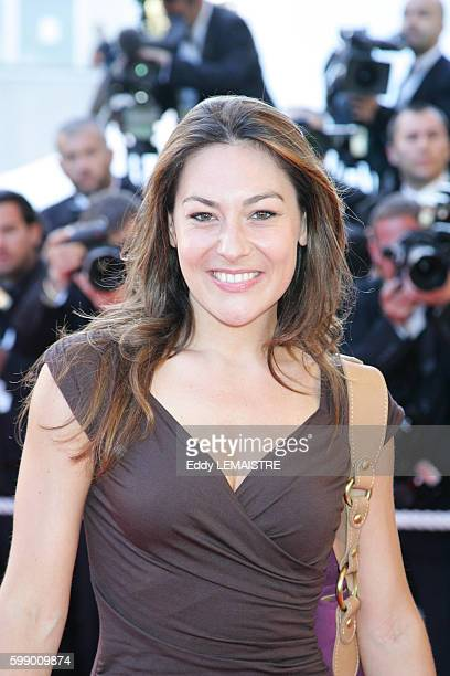 Shirley Bousquet arrives at the premiere of 'Zodiac' during the 60th Cannes Film Festival