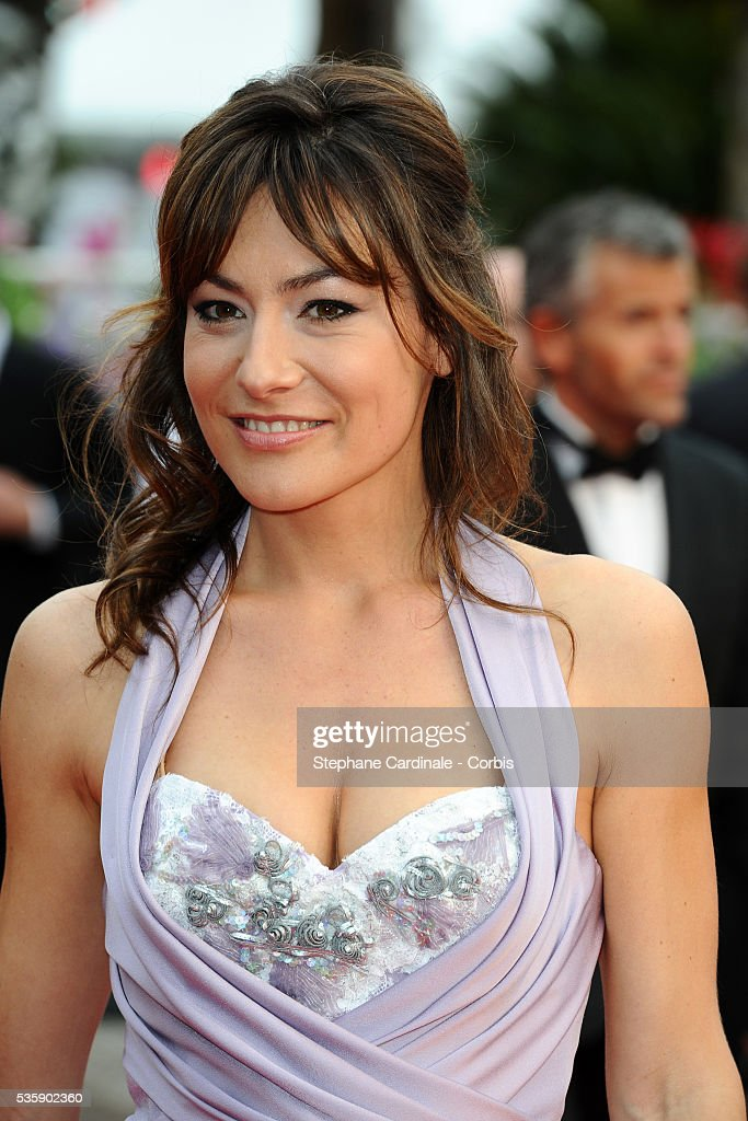 Shirley Bousquet at the Premiere for 'You will meet a tall dark stranger' during the 63rd Cannes International Film Festival.