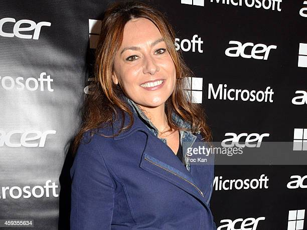 Shirley Bousquet attends the Acer Pop Up Store Launch Party at Les Halles on November 20, 2014 in Paris, France.