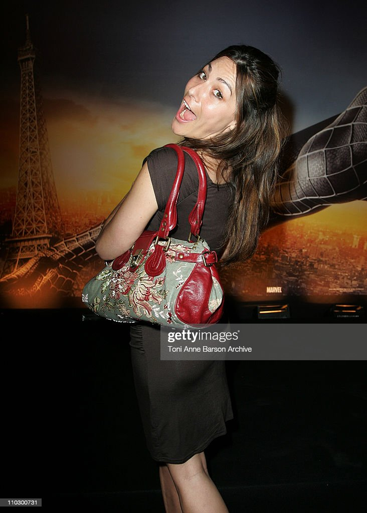 """Spider-Man 3"" Paris Premiere - Inside Arrivals"