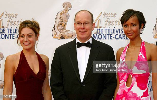 Shirley Bousquet HSH Prince Albert of Monaco and Sonia Rolland