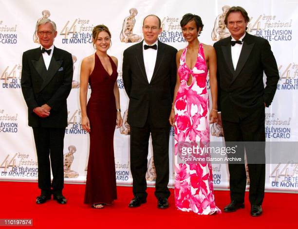 Shirley Bousquet HSH Prince Albert of Monaco Sonia Rolland and FrancoisEric Gendron