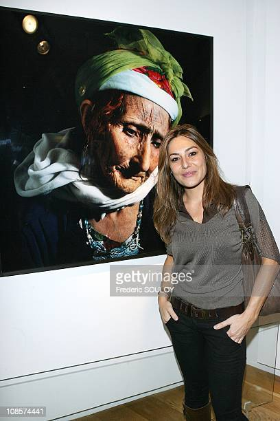 Shirley Bousquet in Paris France on November 13 2008