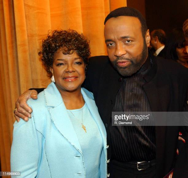 Shirley Caesar and Andrae Crouch during The Recording Academy Presents 2005 GRAMMY Salute to Gospel Music at West Angeles Church in Los Angeles...