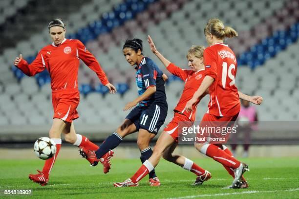 Shirley CRUZ TRANA Lyon / Zvezda 2005 Perm 1/4 Finale Retour de la Ligue des Champions 2010/2011 Lyon