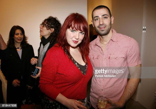 Shirley den Hartog and Feriet Tunc attend ERWIN OLAF Opening Reception at Hasted Hunt Kraeutler on January 28 2010 in New York
