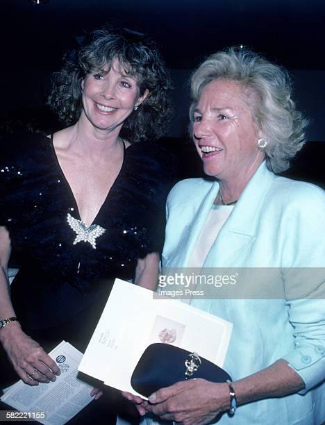 Shirley Fonda and Ethel Kennedy circa 1986 in New York City