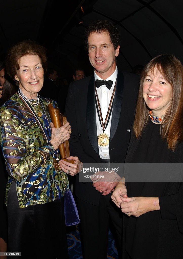 Shirley Hazzard, winner for Fiction, with George Howe colt and wife Anne Fadiman
