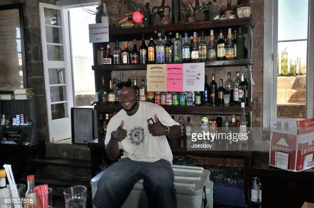 Shirley Height Black Bartender