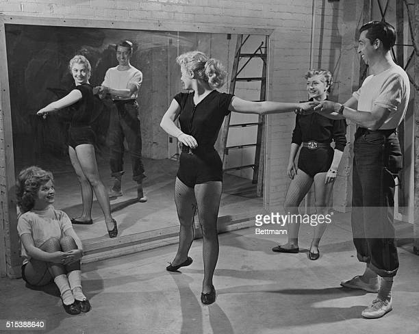 Shirley Is a Pert Laurey Shirley Constant practice helped Shirley attain her success Here she tries a bit of dancing She first studied dramatics at...