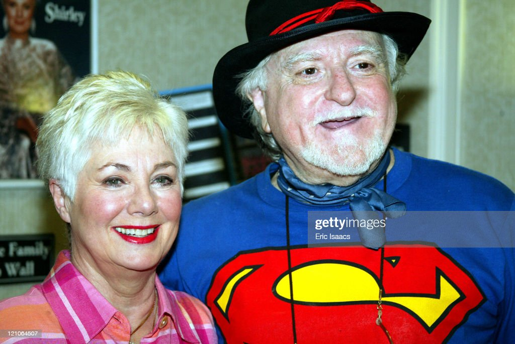 Shirley Jones and husband Marty Ingels during Hollywood Collectors & Celebrities Show - June 28, 2003 at Burbank Airport Marriott Hotel in North Hollywood, California, United States.