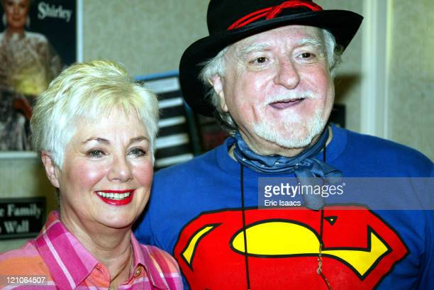 Shirley Jones and husband Marty Ingels during Hollywood Collectors Celebrities Show June 28 2003 at Burbank Airport Marriott Hotel in North Hollywood...