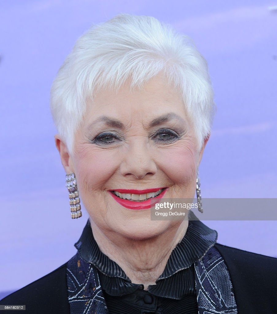 Shirley Jones arrives at the Hallmark Channel and Hallmark Movies and Mysteries Summer 2016 TCA Press Tour Event on July 27, 2016 in Beverly Hills, California.