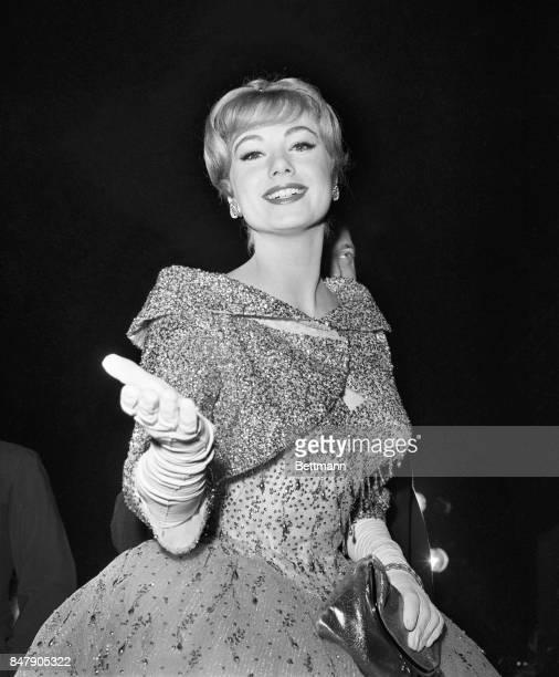 Shirley Jones at the Academy Awards.