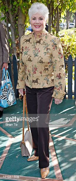 Shirley Jones attends Renee Taylor And Joe Bologna Host Celebrity Fundraiser Lunch And Auction To Help Motion Picture Home Survivors on January 30...