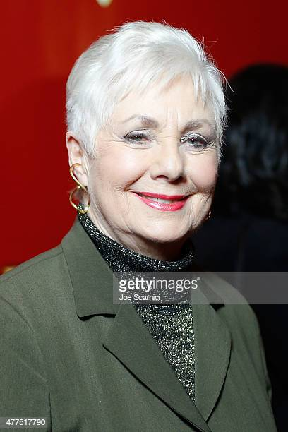 Shirley Jones attends The Phantom Of The Opera Los Angeles Opening Night at the Pantages Theatre on June 17 2015 in Hollywood California