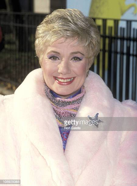 Shirley Jones during Macy's Thanksgiving Day Parade November 27 1986 in New York City New York United States