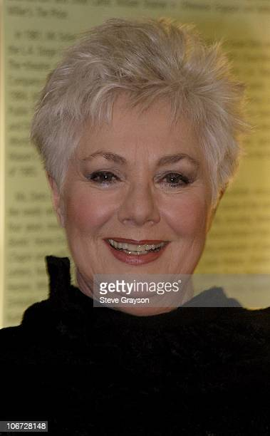 Shirley Jones during Renee Taylor's OneWoman Stage Portrait An Evening With Golda Meir Premiere Engagement at The Canon Theater in Beverly Hills...