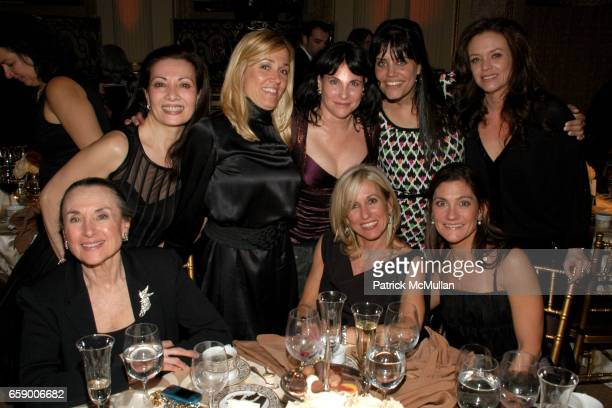 Shirley Kent guest guest Judy Dimon guest guest guest and guest attend BALLET HISPANICO's Black Slipper Ball at The Plaza Grand Ballroom on April 20...